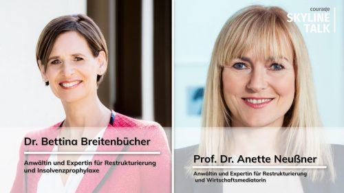 Dr. Bettina Breitenbücher und Prof. Dr. Anette Neußner